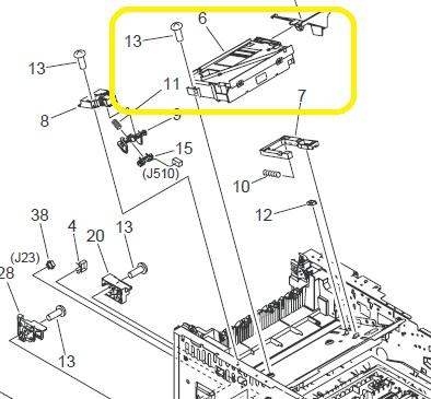 52 00 Error Hp P3005 Laserjet Printer